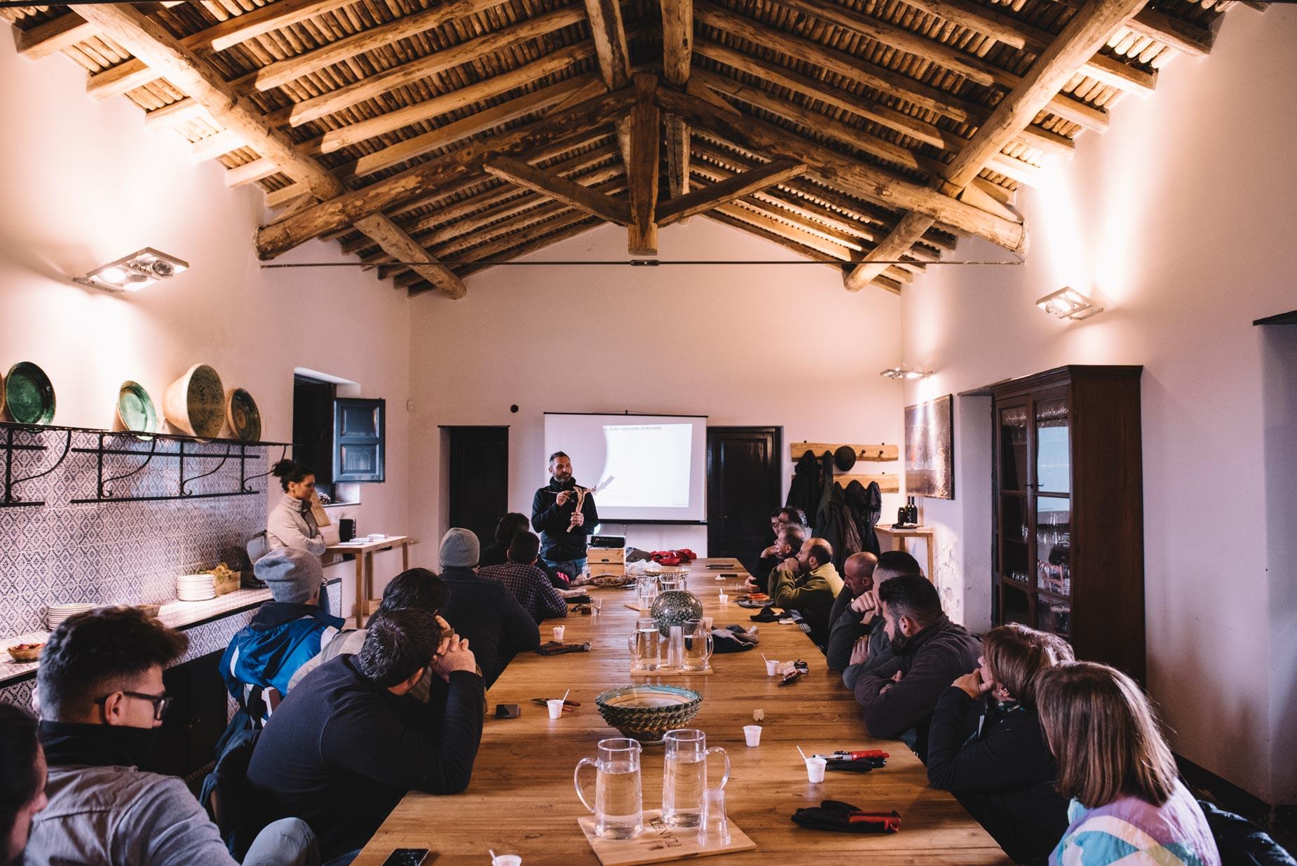 Classroom training | Planeta | Passopisciaro | Sicilia