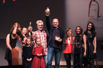 Nonino Risit d'Aur Prize – Gold Vine Shoot 2016 to Simonit&Sirch